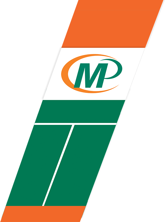Minuteman Press Logo with Band